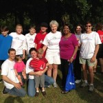 Savannah Mayor Edna Jackson with the Winning Diabetes Team 2012
