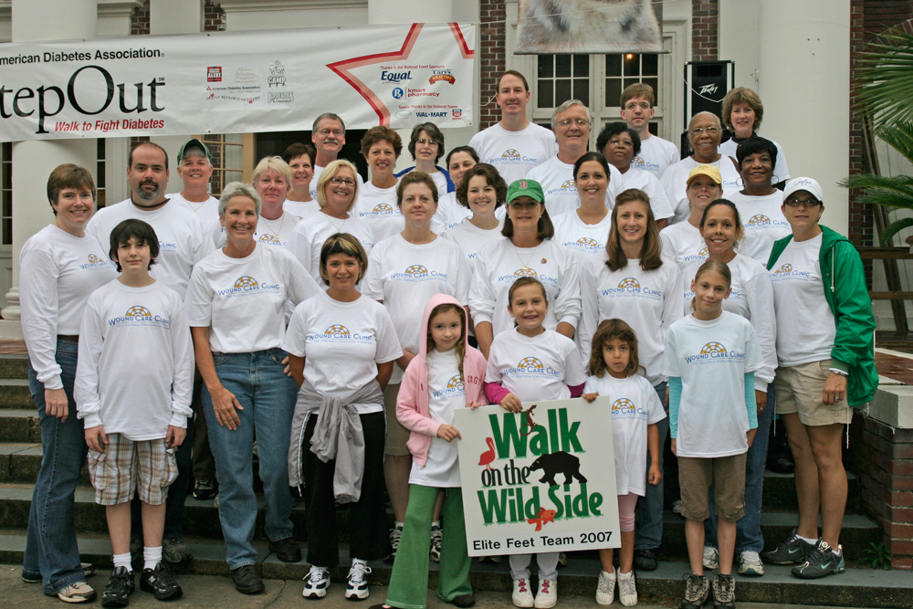 2008WalkforDiabetesWoundCareClinicTeam